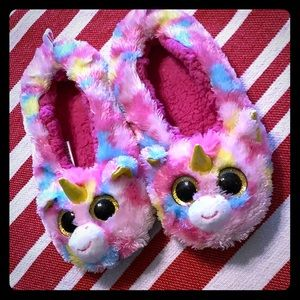 Ty Fantasia unicorn slippers